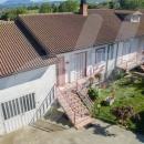 Cod.Cal016 - Bifamiliare con garage-depositi, giardino e terreno. Richiesta € 210.000  ottima per due famiglie