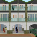 Cod.Hold062 - Porzione di bifamiliare su due livelli a pochi passi dal centro urbano - € 165.000 nuova costruzione